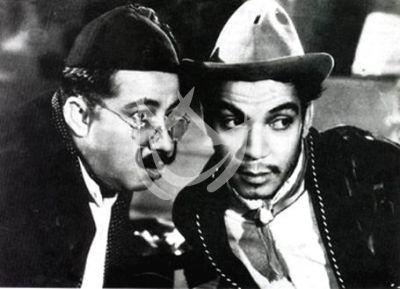 Cantinflas y Joaquín Pardabé