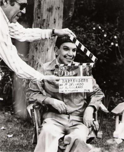 Cantinflas es el Barrendero