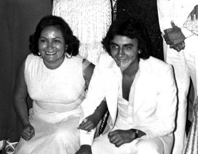 Carmen Salinas e hijo Pedro Placencia 1981