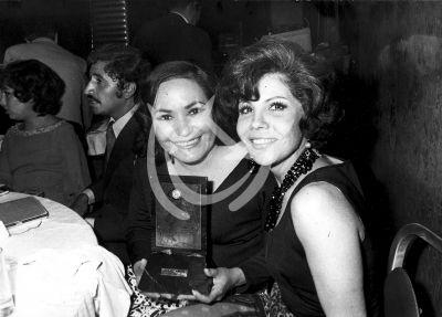 Carmen Salinas y Lilia Prado