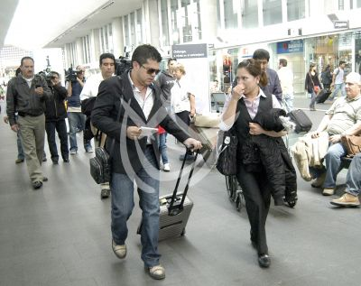 Famosos en Aeropuerto