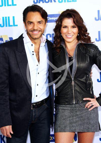 Eugenio Dergbez y Alessandra Rosaldo
