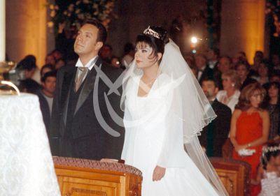 Victoria Ruffo boda 2001