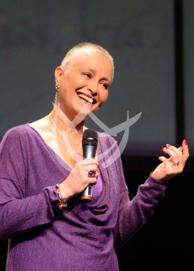 Daniela Romo vence al cáncer