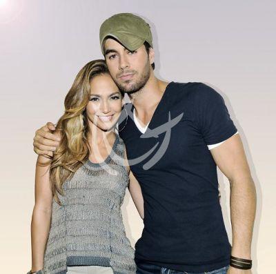 Enrique Iglesias y Jennifer Lopez