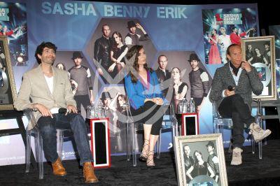 Sasha, Benny y Erick juntos