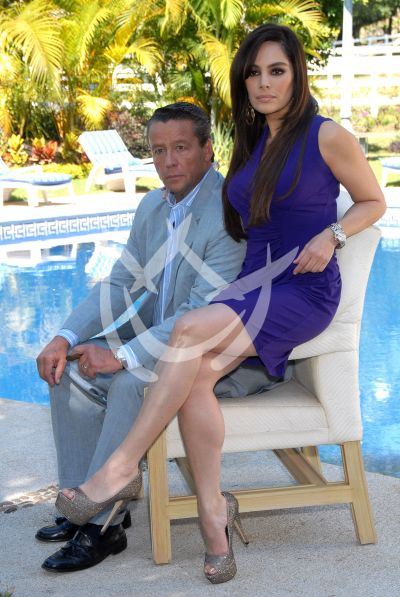Alfredo Adame y Rossana San Juan