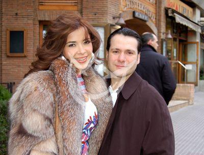 Gloria y esposo 2007