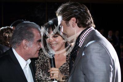 Vicente, Verónica y Alejandro
