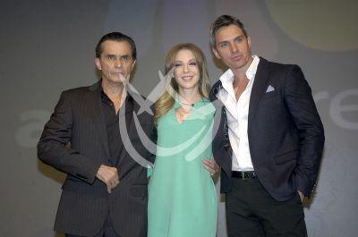 Humberto, Edith y Lizardo