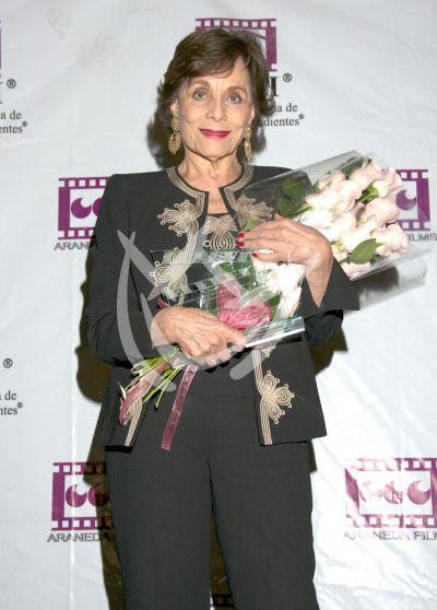 Pilar Pellicer homenajeada