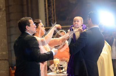 Angélica bautizo