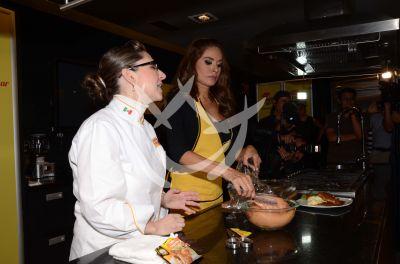 Galilea Montijo ¡cocina!