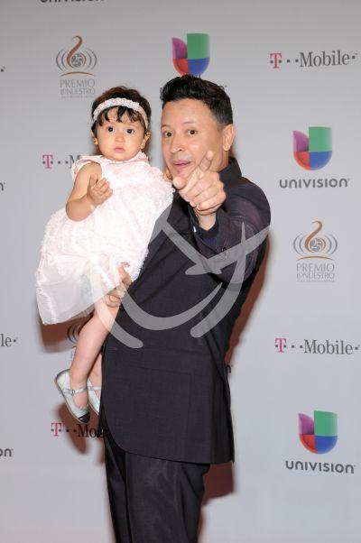 Elvis Crespo e hija ¡papi!