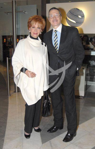 Norma Lazareno y Pablo Ferrer