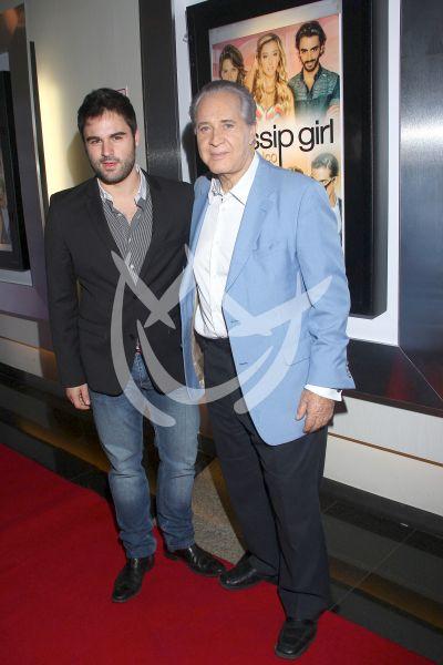 Rogelio Guerra e hijo