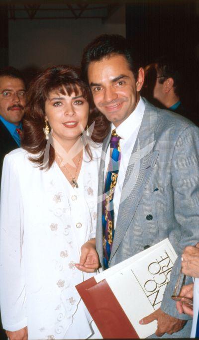 Victoria Ruffo y Eugenio Derbez 1997