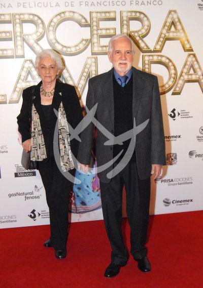 Silvia del Río y Ricardo Blume