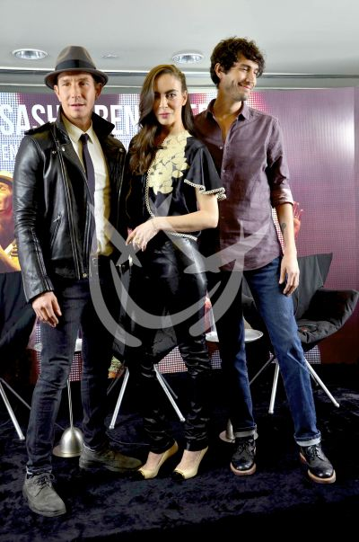 Erick, Sasha y Benny
