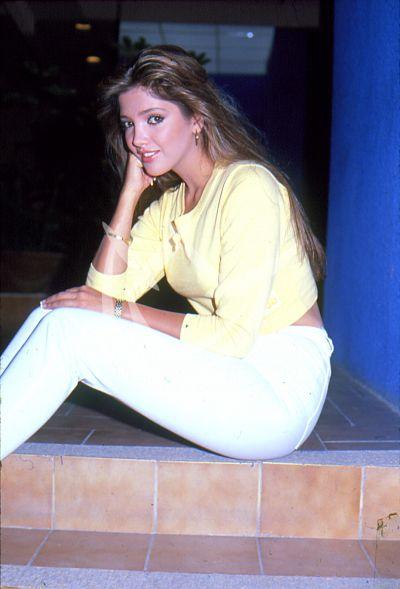 Adela Noriega 18 años