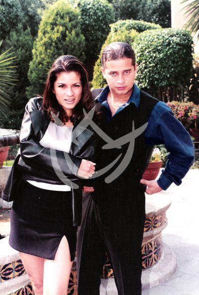 Alessandra Rosaldo y Chacho Gaytán 1992