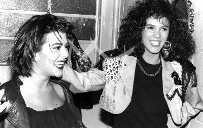 La Guzmán y Edith Márquez 1988