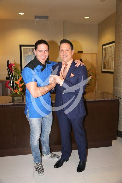 Raúl y el Chef James ¡socios!