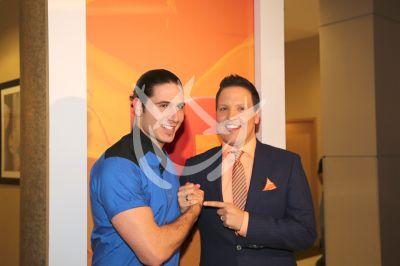 Raúl y el Chef James