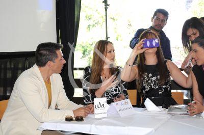 Sergio, Ana y Marisol