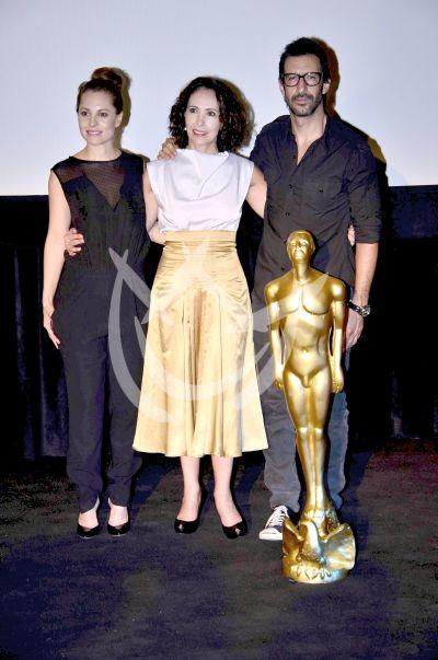 Marina, Blanca y José María