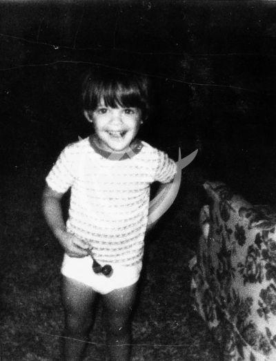 Luis Miguel a los 3 años