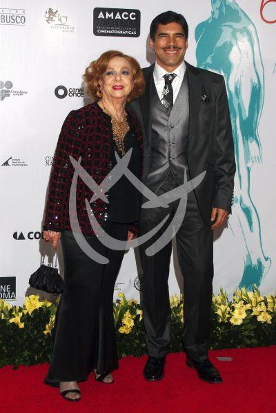 Alberto Estrella con Ariel