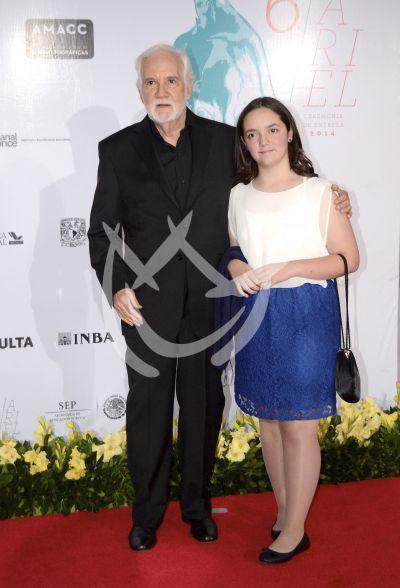 Ricardo Blume con Ariel