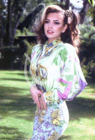 Thalía en 1987