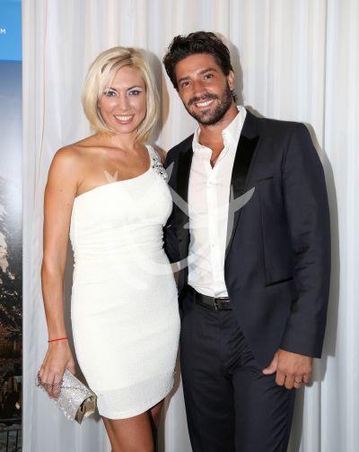 David Chocarro y esposa
