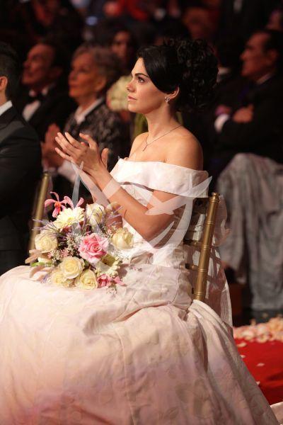 Livia Brito de novia