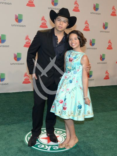 Leonardo y Angela Aguilar en LG