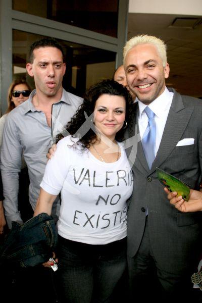 Cristian ¡Valería, no existís!