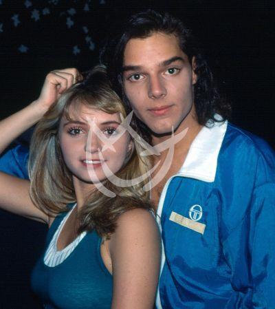 Angélica Rivera y Ricky, 1991