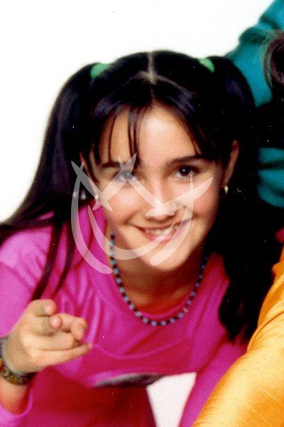Dulce María a los 11 años