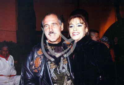 Lucía y Andrés García, 2001