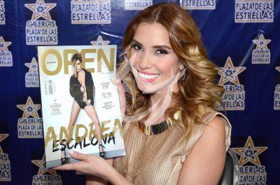 Andrea Escalona es Open