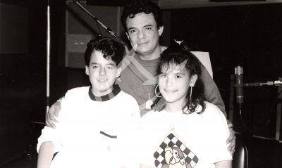 José José con José Joel y Angeliquita