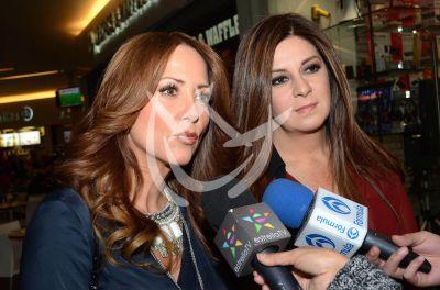 Andrea y Martha de Tacones