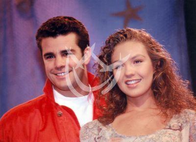 Thalía y Eduardo en Marimar