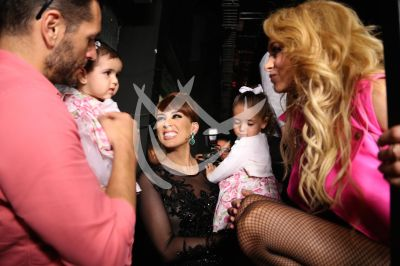 Jacky y familia con Paulina