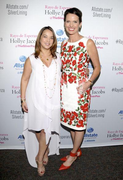 Adamari López y Holly Jacobs