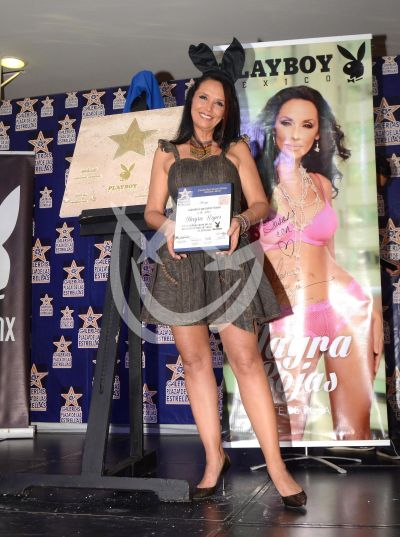 Mayra Rojas es conejita favorita
