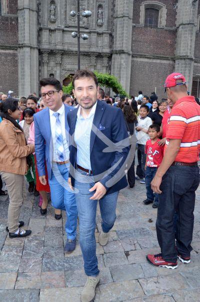 Luis Manuel Avila con Danico