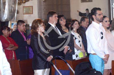 Angélica María con Tony Costa